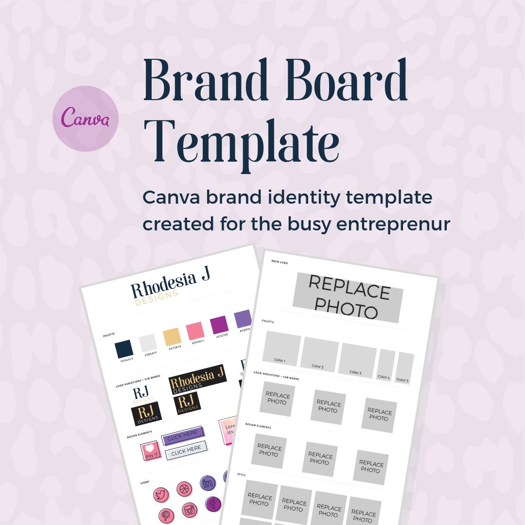 Brand Board Template
