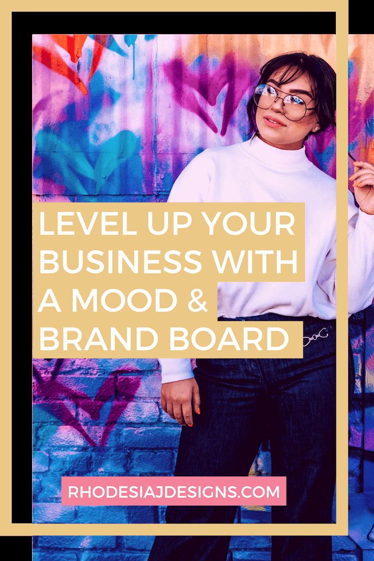 brand board mood board blog