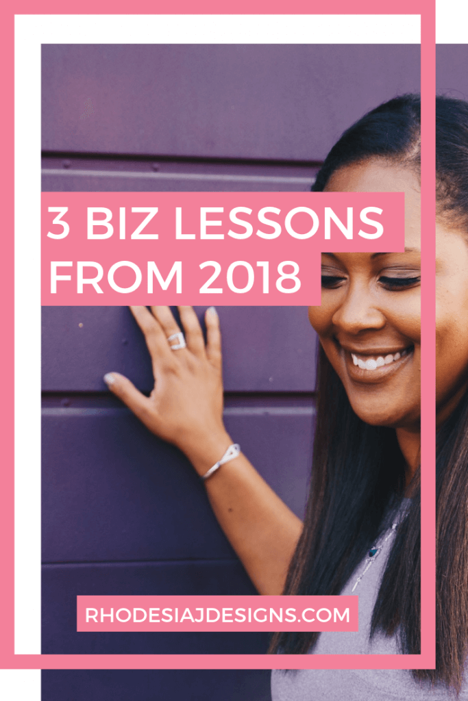 3 Lessons from 2018 to Level up your Business in 2019