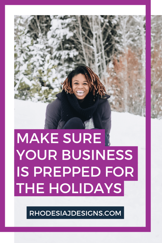 Make sure your business is prepped for the holiday season