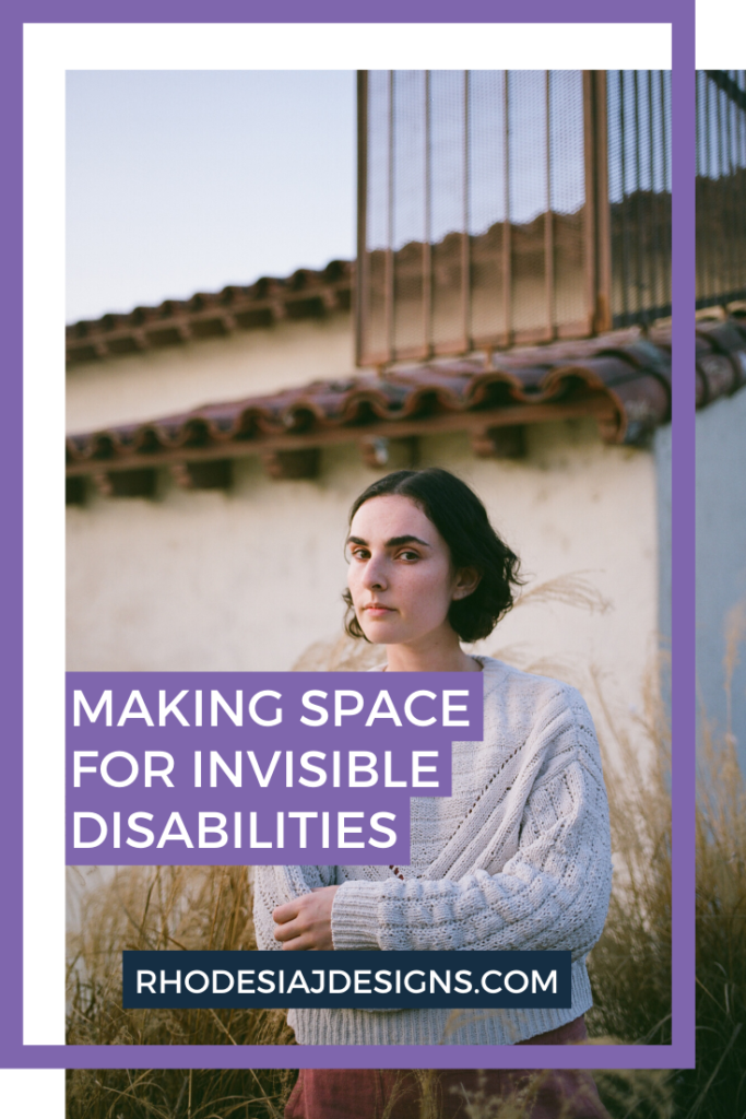 Making Space for Invisible Disabilities During Content Creation