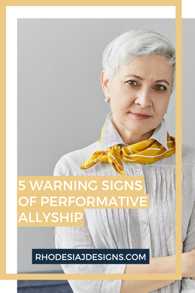 5 Warning Signs That Your Allyship is Performative